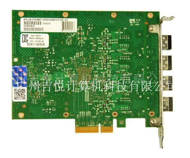 Intel网卡I350F4四口千兆/服务器/多模光纤网卡