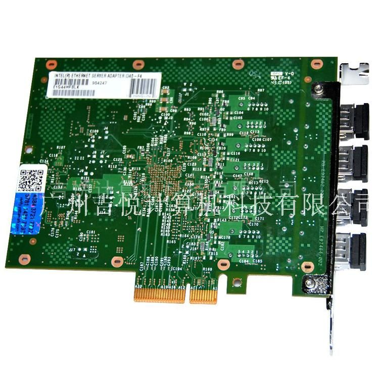 Intel网卡E1G44HF四口千兆I340-F4服务器光纤82580