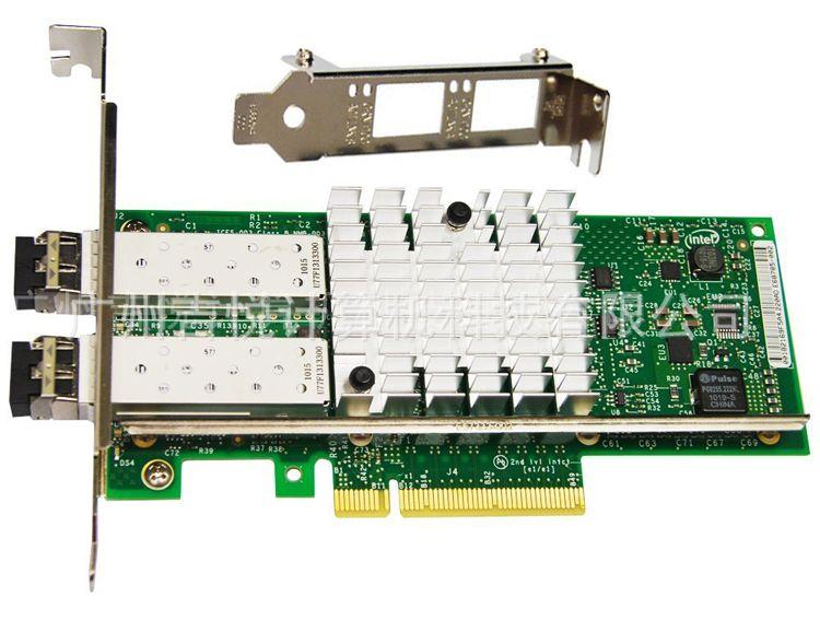 Intel网卡E10G42BFSR/X520-SR2万兆双口光纤/82599