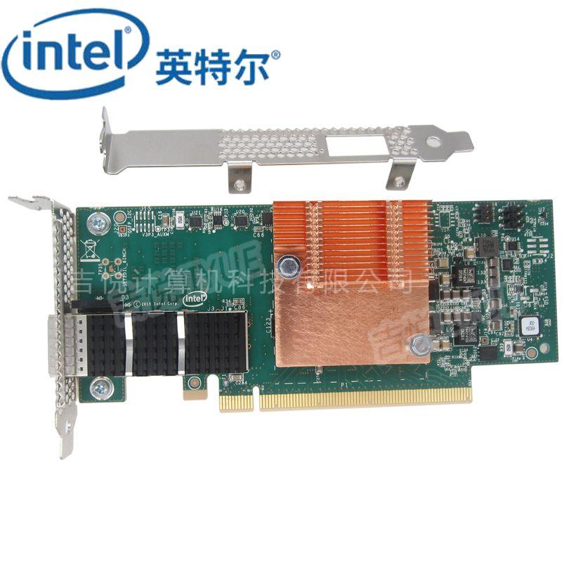 英特尔(Intel)100HFA016LS网卡单口100G光纤模块单配PCIE X16