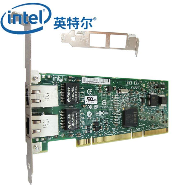 intel千兆网卡PWLA8492MTBLK服务器PCI双口82546芯片